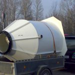 Attīrīšanas iekārtas transportēšana uz privatmāju