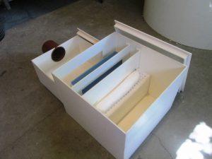 Eļļas-naftas-separators-liekams-telpā